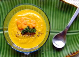 Морковно-кабачковый суп-пюре