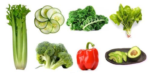 Наиболее известные ощелачивающие продукты питания