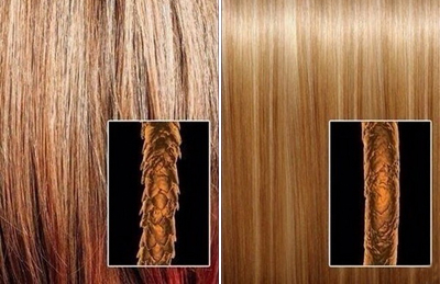 Ботокс для волос, фото до и после
