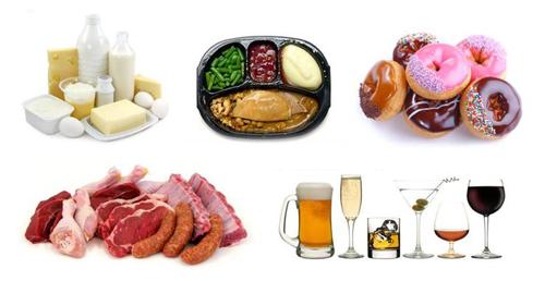 Продукты питания, повышающие кислотность в организме