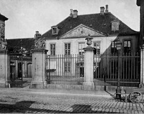 Больница короля Фредерика 5-го, 1757 год