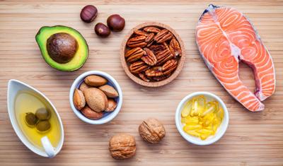 Продукты - источники жиров