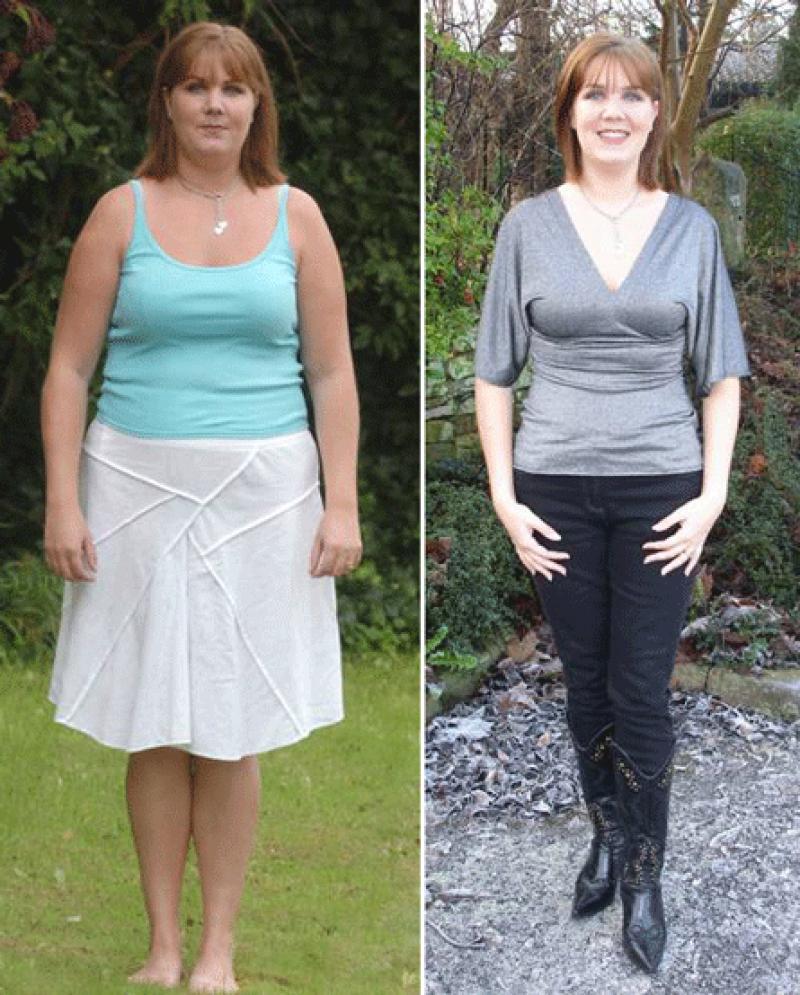 Кефирная диета: фото до и после