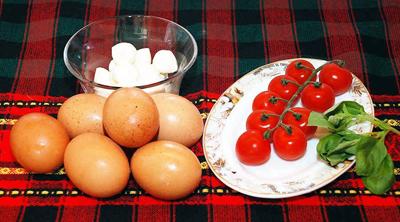 Рацион яично-помидорной диеты