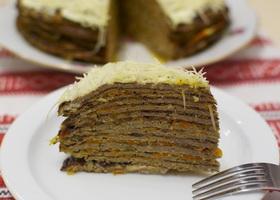 Диетический печеночный торт