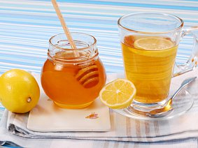 Лимонно-медовый напиток