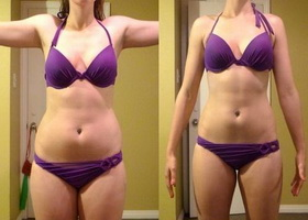 Фото до и после 14 дней питьевой диеты