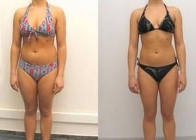 Фото до и после 14 дней японской диеты