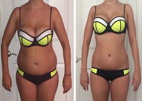Фото до и после 30 дней питьевой диеты