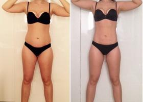 Фото до и после 7 дней японской диеты