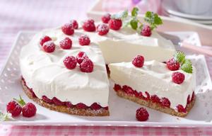 Диетический йогуртовый торт