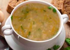 Фото овсяного супа с овощами