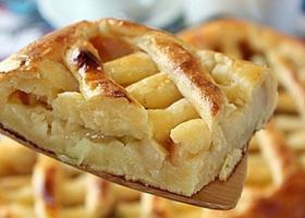 Фото творожно-яблочного пирога