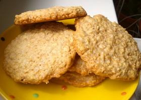 Фото простого овсяного печенья