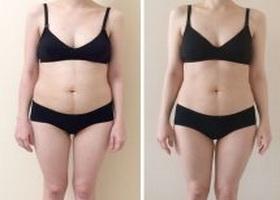 Фото до и после яичной диеты Магги