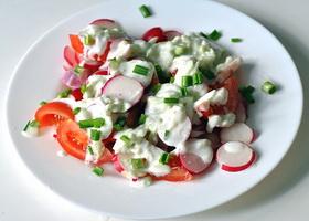 Весенний салат, фото