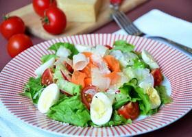 Яично-овощной салат