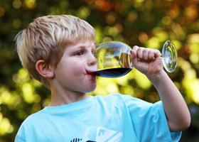 Почему дети не должны впервые пробовать алкоголь дома?
