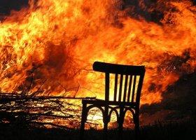 Отравление при пожаре – как действовать?