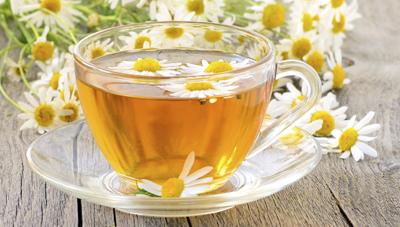 Чай с ромашкой аптечной