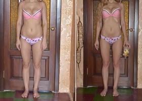 Результат диеты 6 лепестков