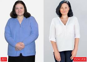 Результат похудения Екатерины Миримановой