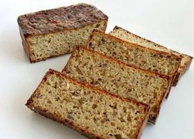 Хлеб творожно-отрубной в духовке