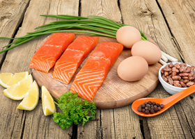 Белковая пища поможет укрепить сердце
