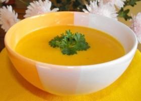Суп из тыквы и риса