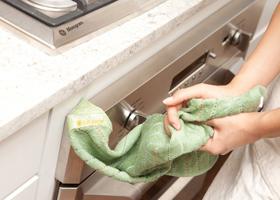 Кухонное полотенце может быть  рассадником бактерий