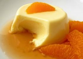Панакота апельсиновая
