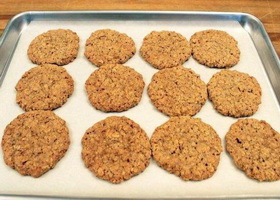 Творожно-фруктовое печенье