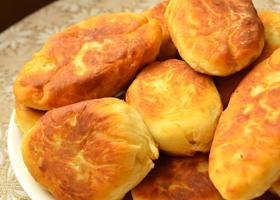 Пирожки с грибами и картофелем