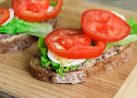 Диетические бутерброды