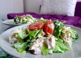 Курино-творожный салат