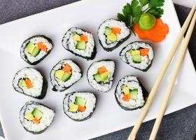 Рецепты вегетарианских роллов