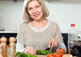 Питание женщины после 55 лет