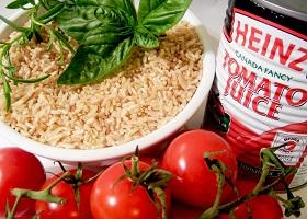 Диета на рисе и томатном соке