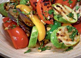 Из запеченных овощей
