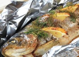 Рыба фаршированная на пару
