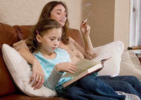 Дети курящих родителей могут плохо слышать