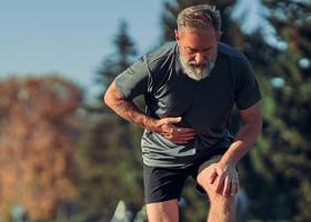 Мужчинам со слабыми мышцами может угрожать инсульт или инфаркт