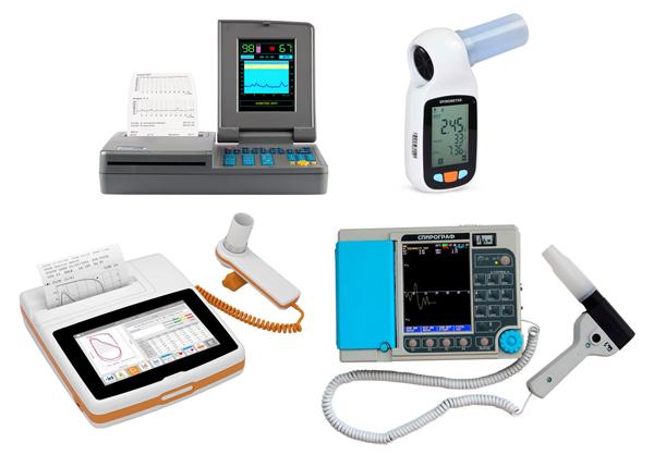 Разновидности современных цифровых спирометров