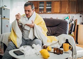 Насильное питание при гриппе опасно для здоровья