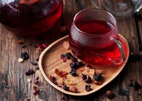 Чай каркаде может негативно влиять на состояние зубов